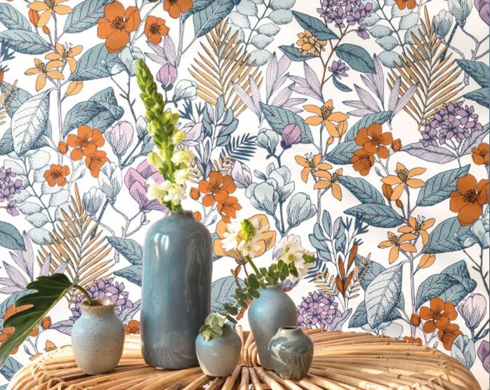 Papier Peint Caselio Floral