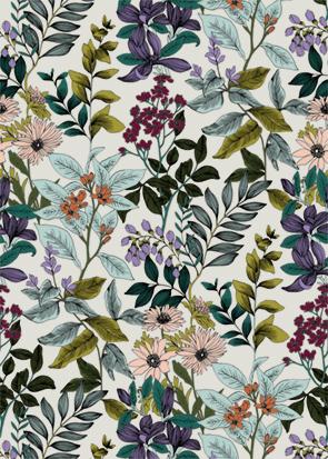 Motif floral Safeco