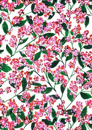 Design textile Motif Aquarelle
