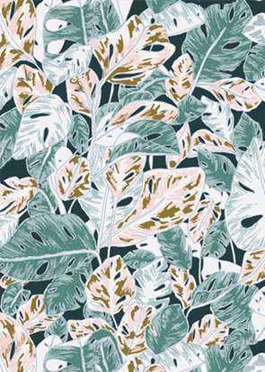 Design textile Motif Tropical